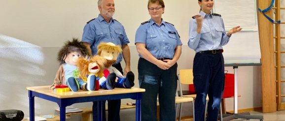 Puppenbühne der Polizei Mainz
